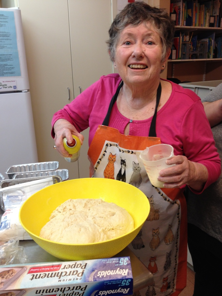 Marilyn, Moms & Mentors Bread Baker